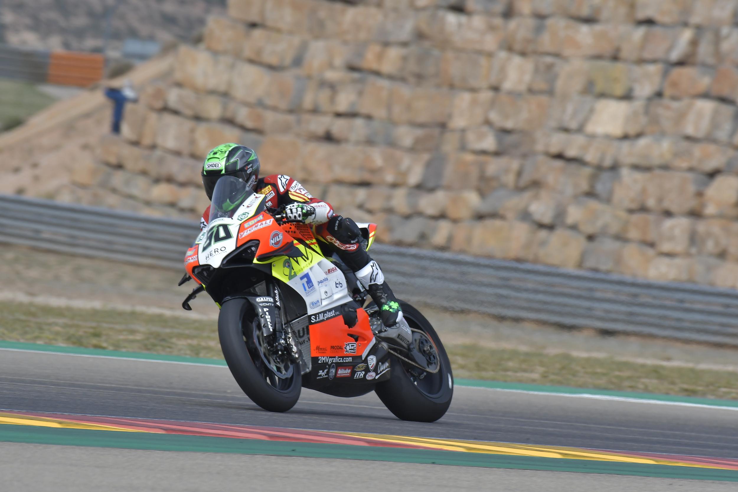 WSBK 2019 3 Round - Motocard Aragon