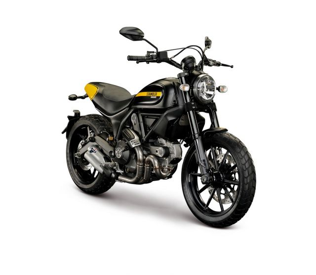 New applications for Ducati Scrambler