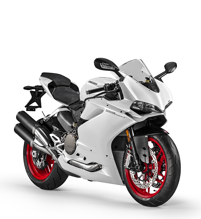 New suspensions for Ducati 959 Panigale