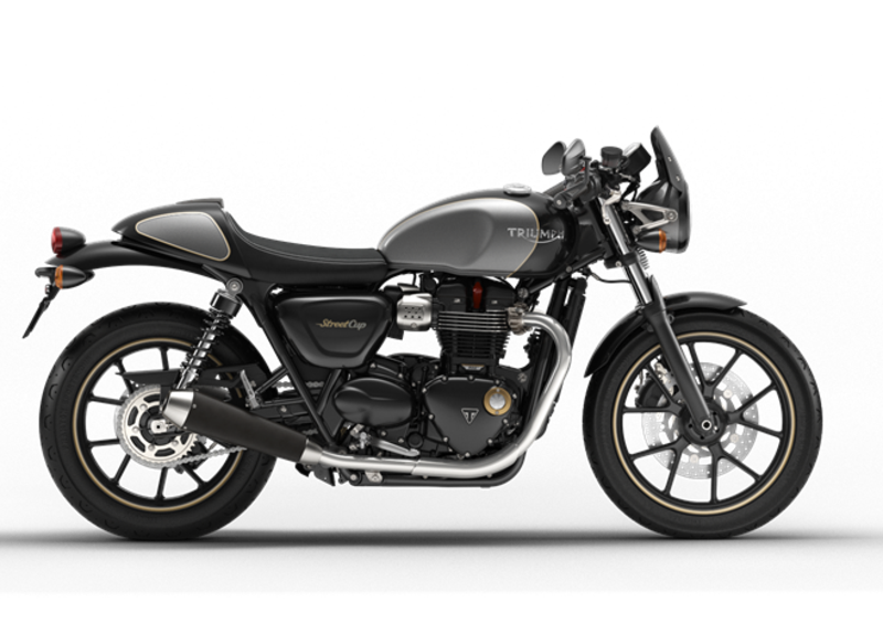 New products for Triumph Street Cup