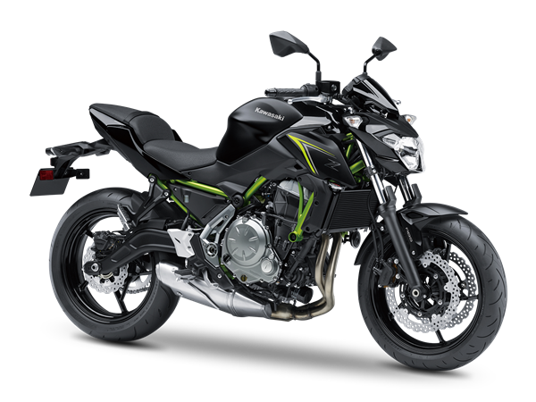 New suspension for 2017 Kawasaki Z650 ABS