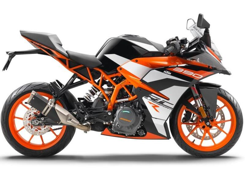 New applications for KTM RC390R