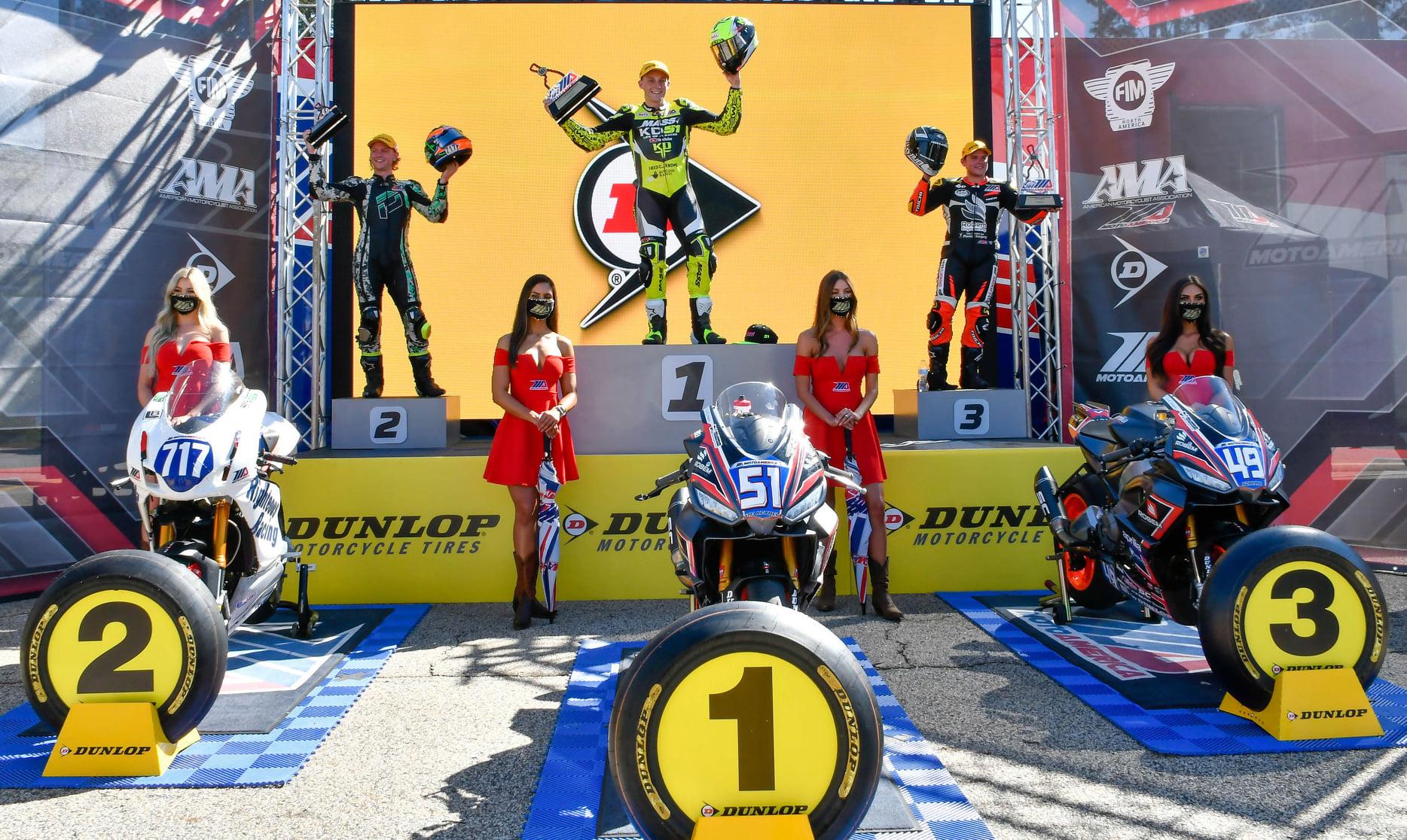 Aprilia Dominates In Motoamerica In The Debut Race With Bitubo Suspension