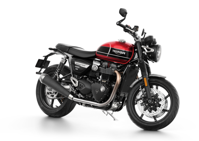 New products for Triumph Speed Twin