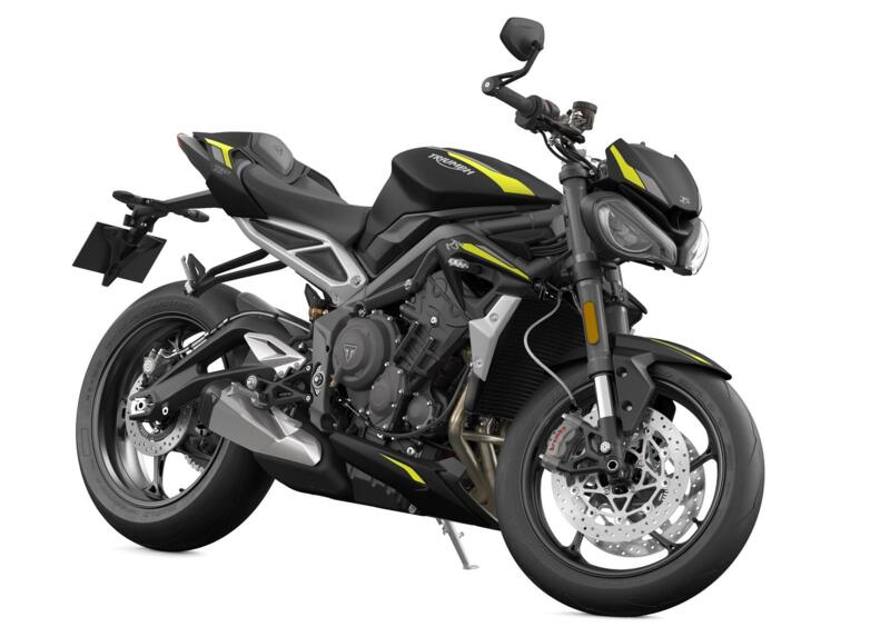 New applications for Triumph Street Triple 765 RS
