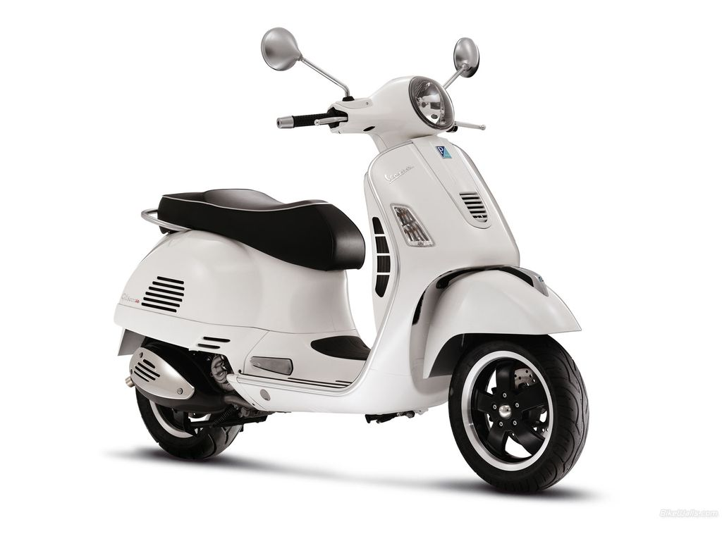 New applications for Vespa GTS 300